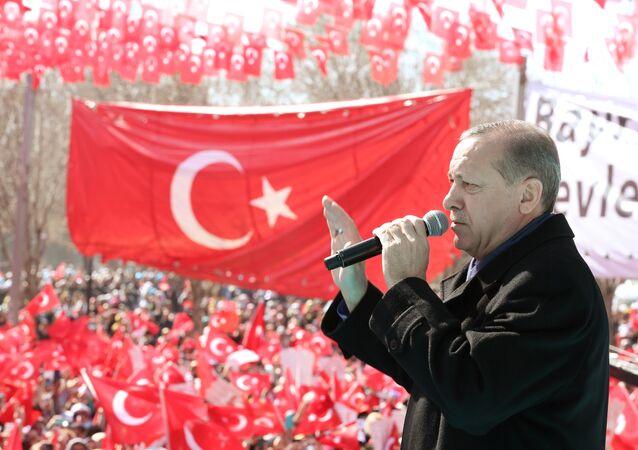 Tayyip Erdogan (foto d'archivio)