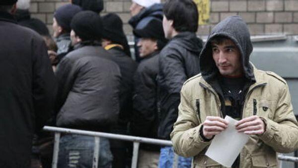 Migranti delle Repubbliche ex Urss a Mosca (foto d'archivio) - Sputnik Italia