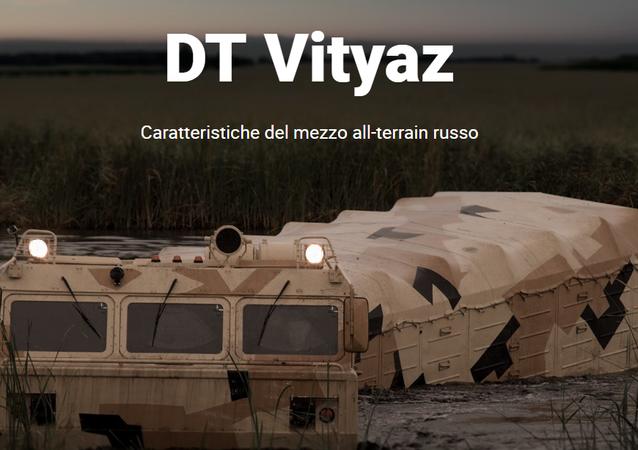 Il mezzo all-terrain russo DT Vityaz