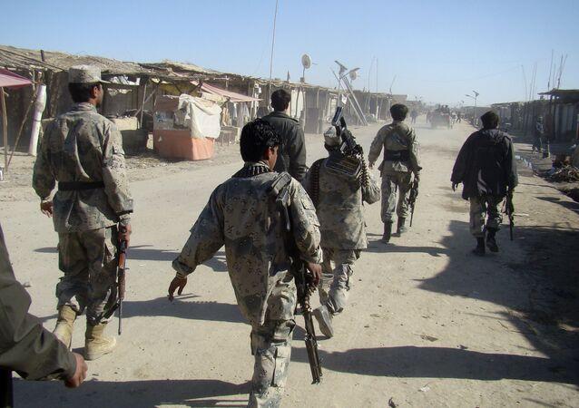 Truppe afghane