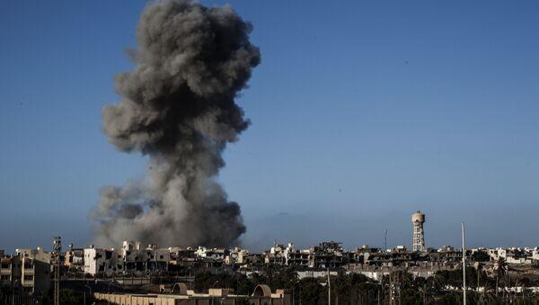 Dopo un bombardamento a Sirte, Libia - Sputnik Italia