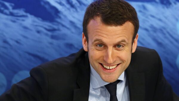 Frankreichs Wirtschaftsminister Emmanuel Macron - Sputnik Italia