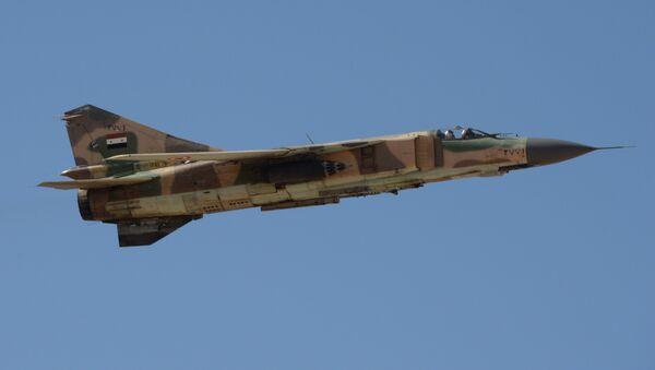Caccia Mig-23 dell'esercito siriano - Sputnik Italia