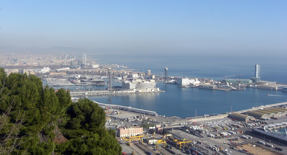 Porto di Barcelona