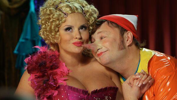 Pinocchio in una riproduzione russa - Sputnik Italia