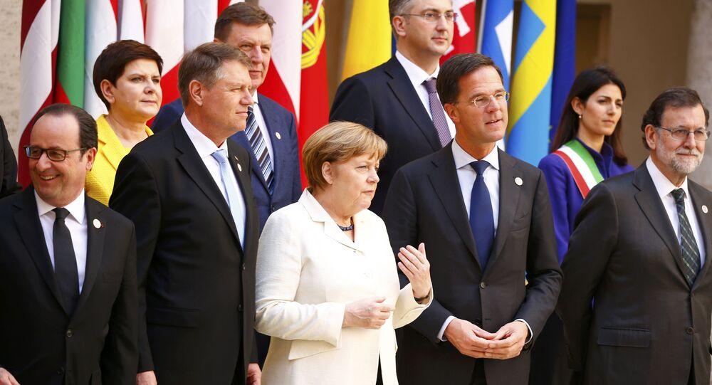 Leader della UE al vertice di Roma