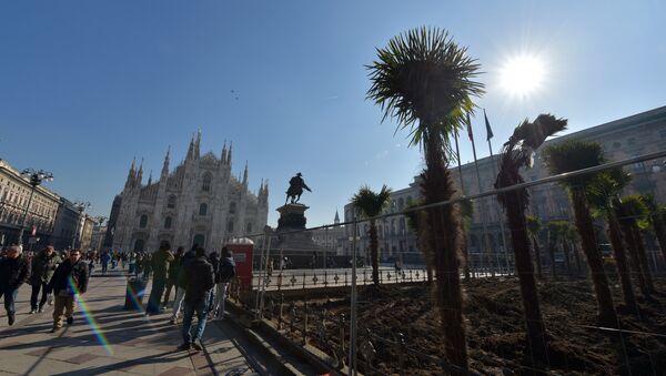 La Piazza del Duomo a Milano - Sputnik Italia