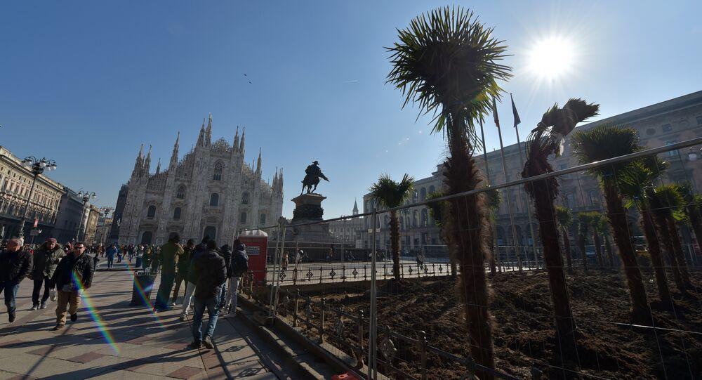 La Piazza del Duomo a Milano