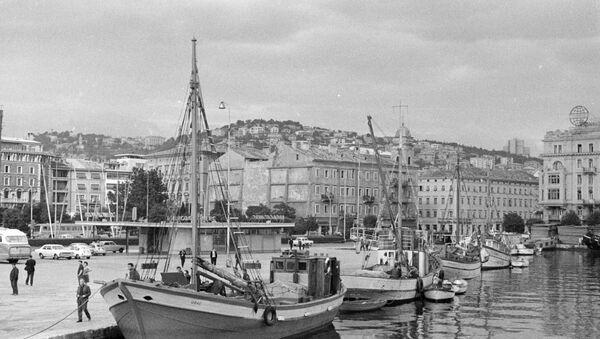 Il porto di Fiume - Sputnik Italia