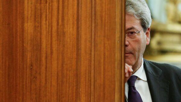 Il Commissario europeo Paolo Gentiloni - Sputnik Italia