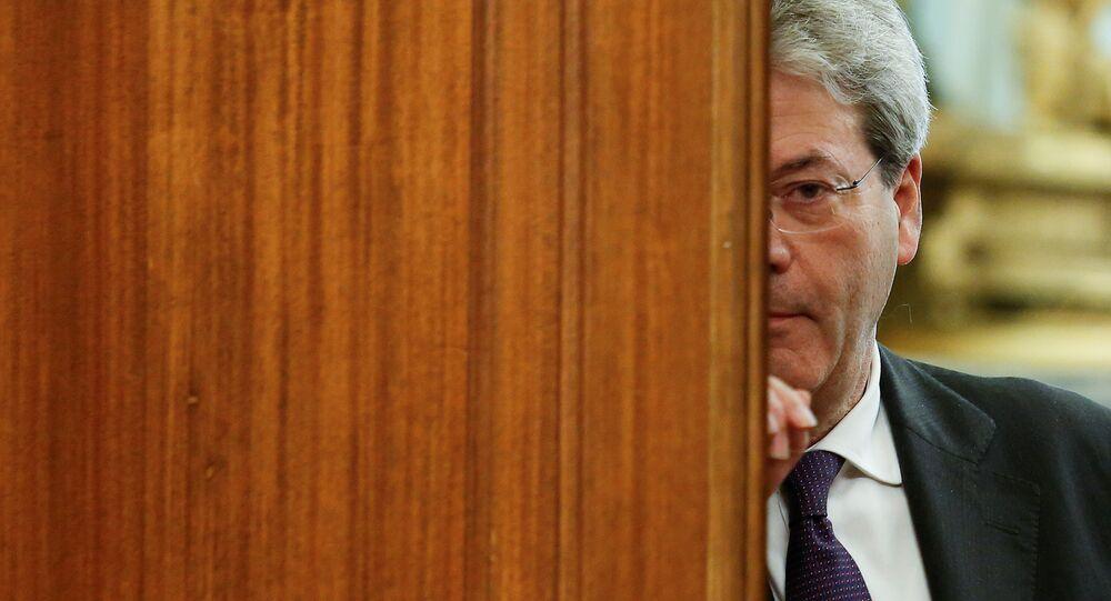 Il Commissario europeo Paolo Gentiloni