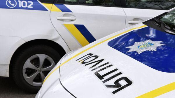 Автомобиль сотрудников Украинской полиции - Sputnik Italia
