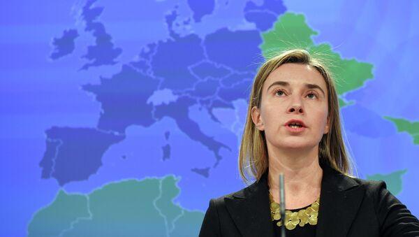 EU foreign policy chief Federica Mogherini - Sputnik Italia