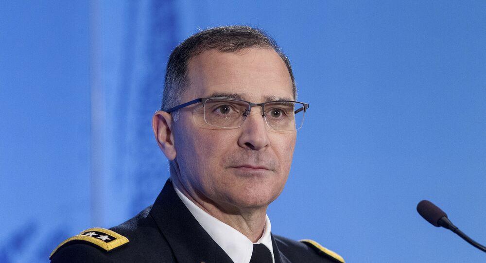 Generale americano Curtis Scaparrotti