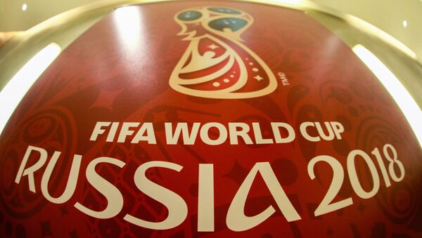 2018 FIFA World Cup official logo - Sputnik Italia