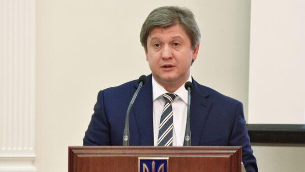 Il ministro delle Finanze ucraino Oleksandr Danilyuk - Sputnik Italia