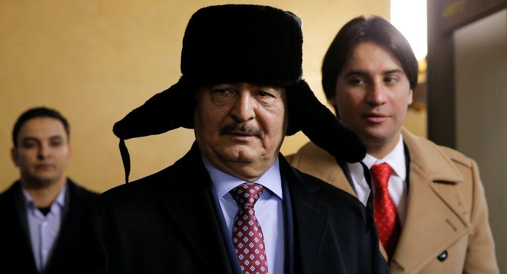 Il general Khalifa Haftar