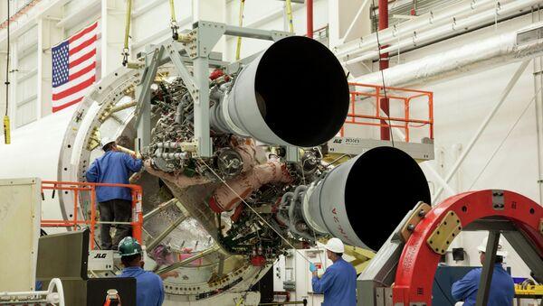 Motor ruso RD-181 - Sputnik Italia