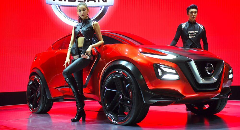 L'auto concetto Nissan Gripz