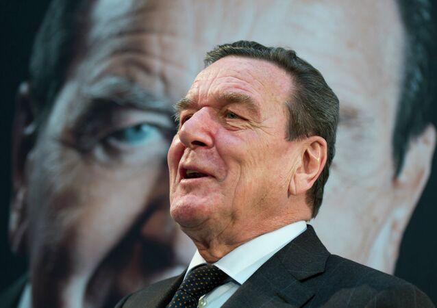 Gerhard Schröder, ex cancelliere tedesco