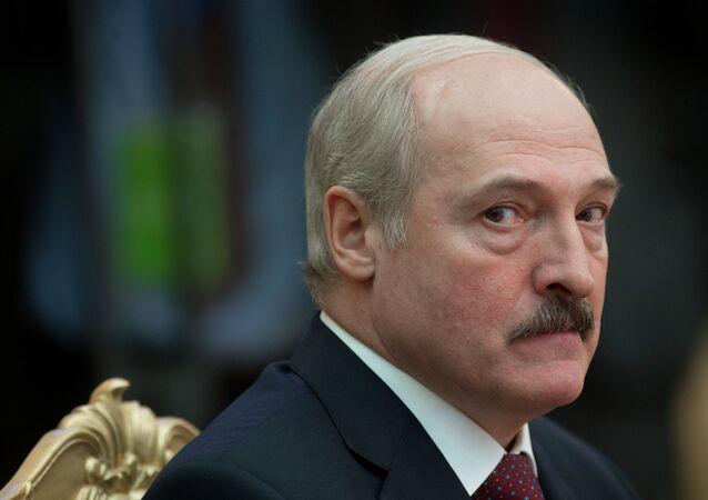 Il presidente della Bielorussia Alexander Lukashenko