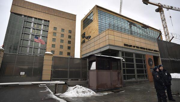 Ambasciata degli USA a Mosca - Sputnik Italia