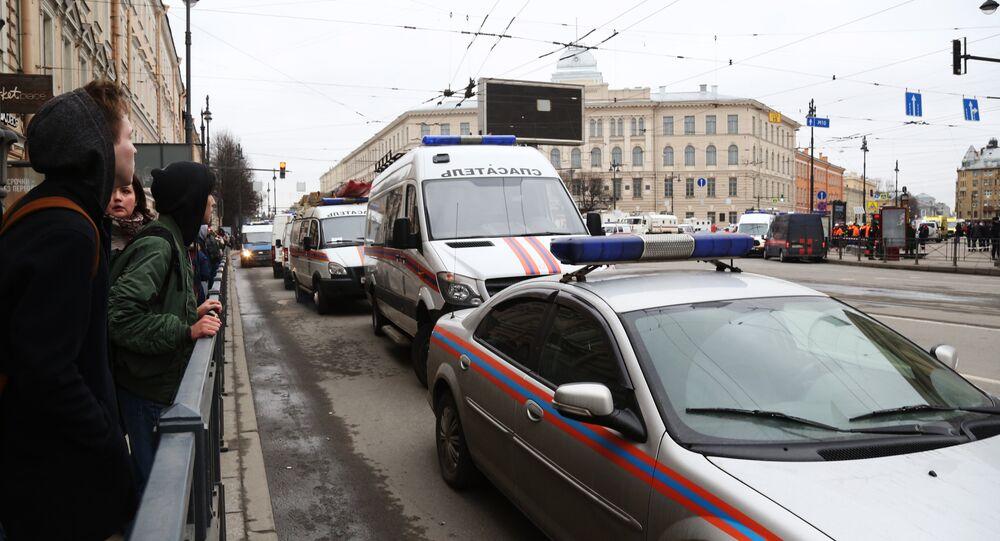 San Pietroburgo, soccorsi nei pressi della stazione della metropolitana Tekhnologichesky Institute