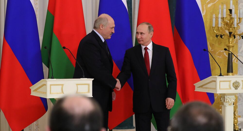 Incontro tra Vladimir Putin e Alexander Lukashenko