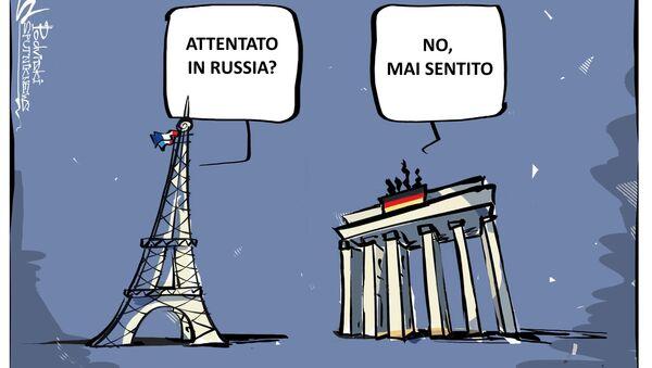 Attentato in Russia? No, mai sentito - Sputnik Italia