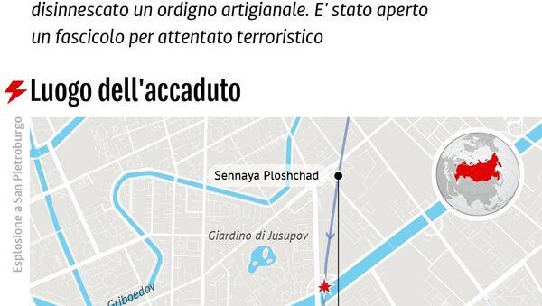 Attentato nella metro di San Pietroburgo - Sputnik Italia