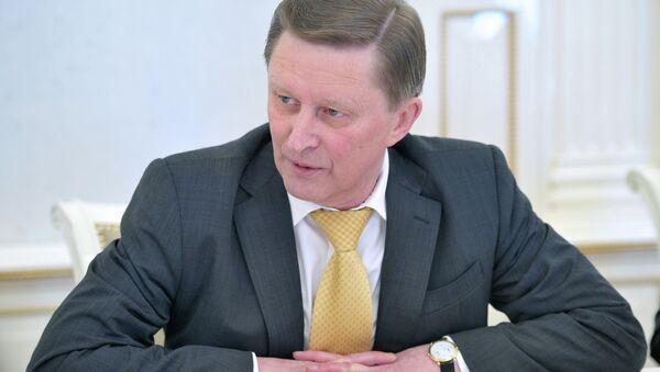 Sergey Ivanov, capo amministrazione Cremlino - Sputnik Italia