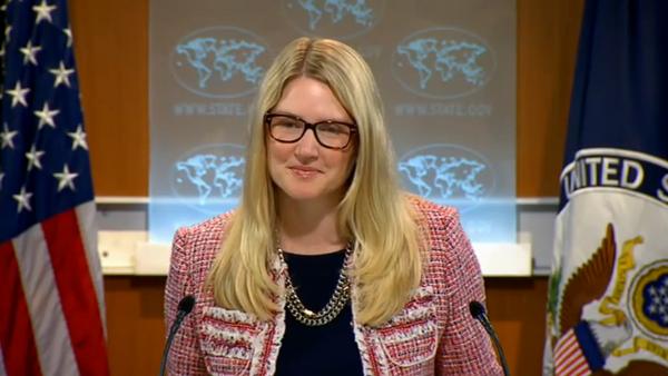 Portavoce Dipartimento di Stato USA Marie Harf - Sputnik Italia
