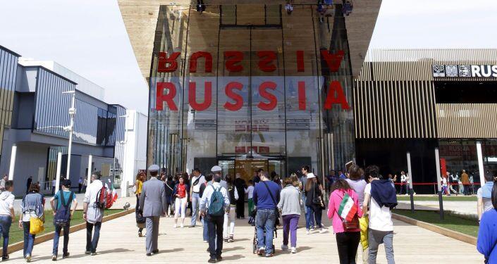 Il padiglione russo all'EXPO di Milano