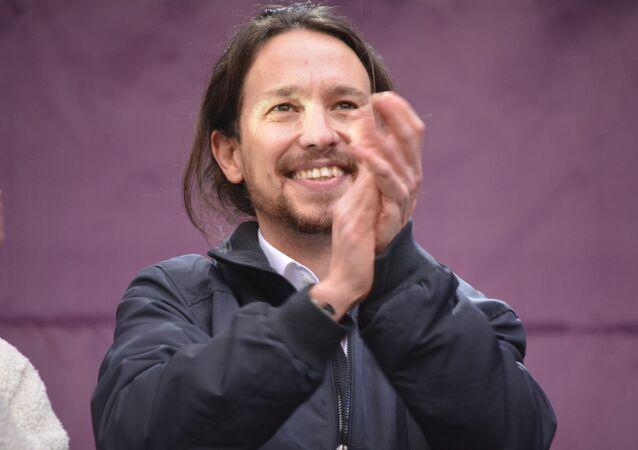 Pablo Iglesias,  Il Secretario Generale del partito Podemos