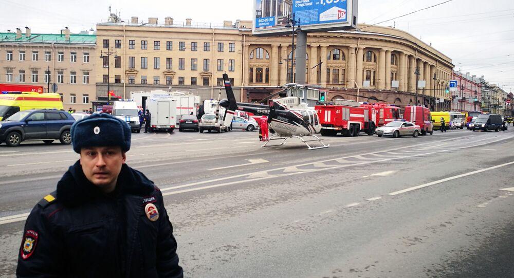 Un poliziotto a San Pietroburgo