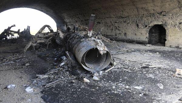 Base siriana di Shayrat colpita dai missili americani - Sputnik Italia