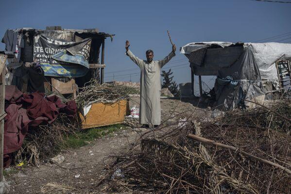 Profughi siriani nella provincia turca di Smirne. - Sputnik Italia