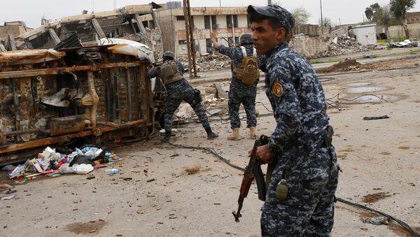 Polizia federale irachena a Mosul - Sputnik Italia