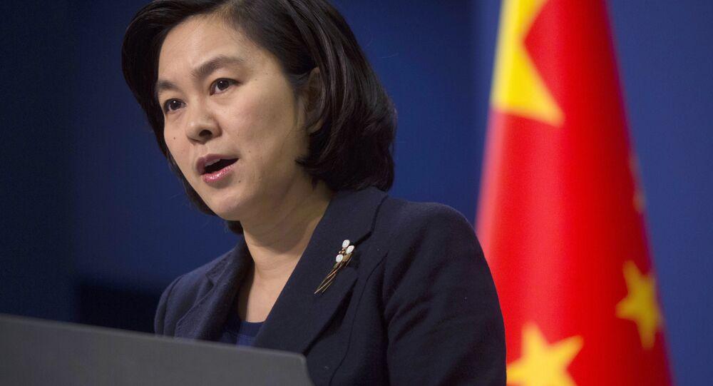 Portavoce del ministero degli Esteri cinese Hua Chunying