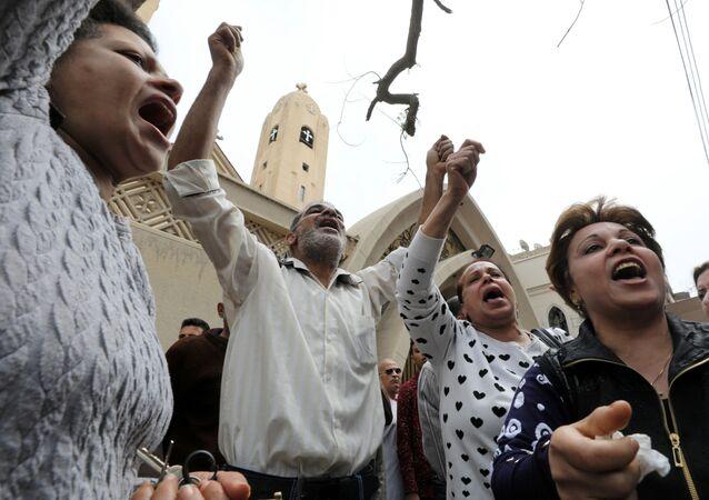 Disperazione tra i cristiani copti egiziani