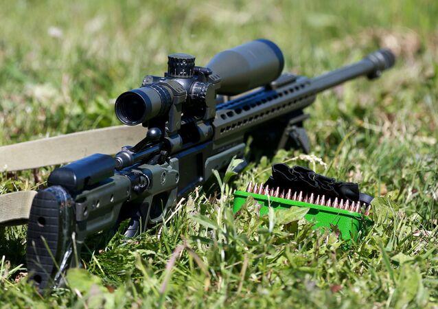 Un fucile da cecchino.