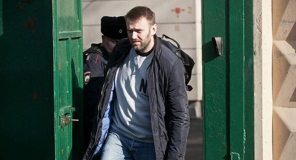 L'attivista Alexei Navalny