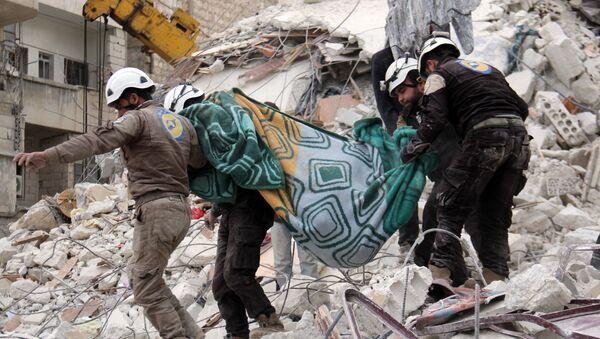 Caschi Bianchi in Siria - Sputnik Italia