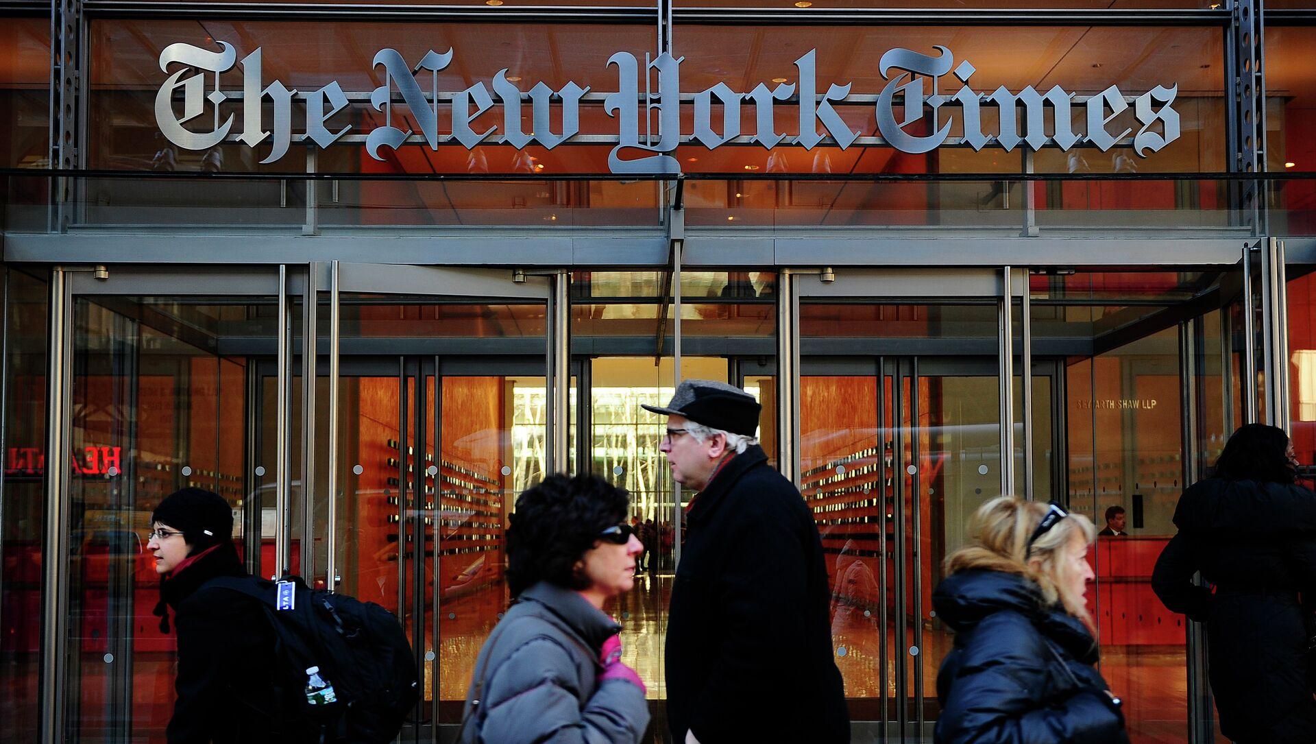 La sede del New York Times a New York - Sputnik Italia, 1920, 26.03.2021
