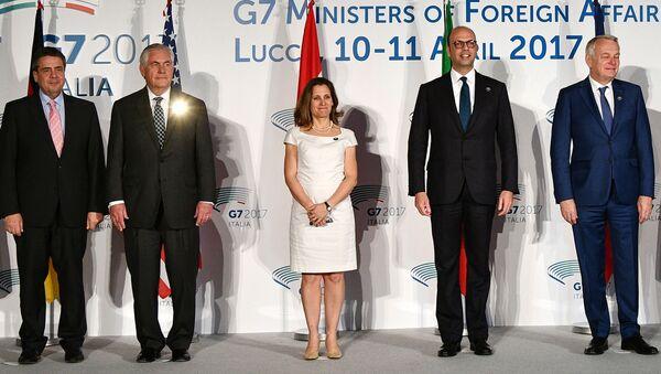 G7 dei ministri degli esteri di Lucca - Sputnik Italia