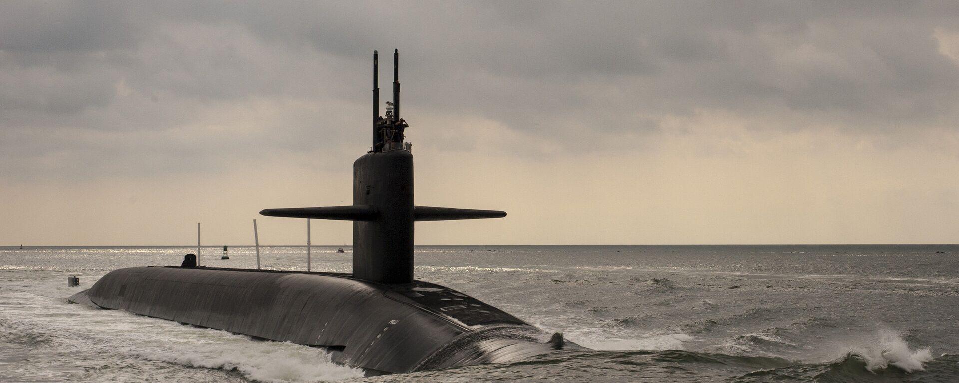 Sottomarino nucleare USA di classe Ohio  - Sputnik Italia, 1920, 04.06.2021