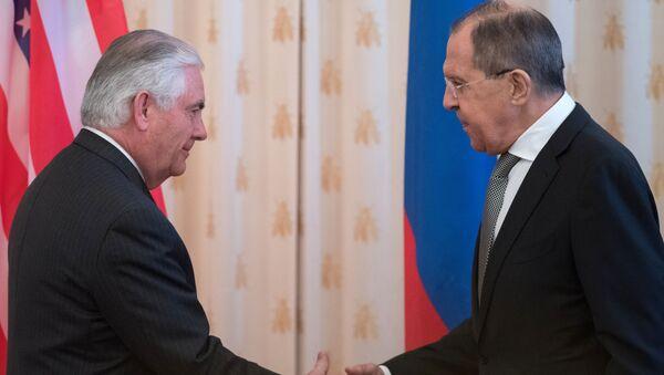 Rex Tillerson e Sergey Lavrov a Mosca - Sputnik Italia