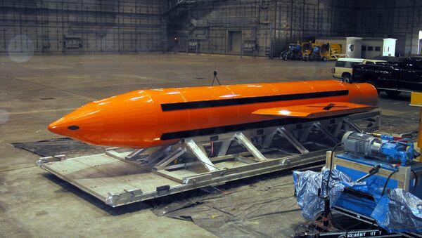 GBU-43/B Massive Ordnance Air Blast - Sputnik Italia