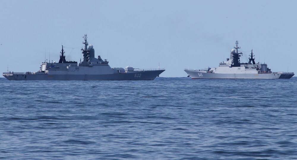 Corvette della flotta del Baltico