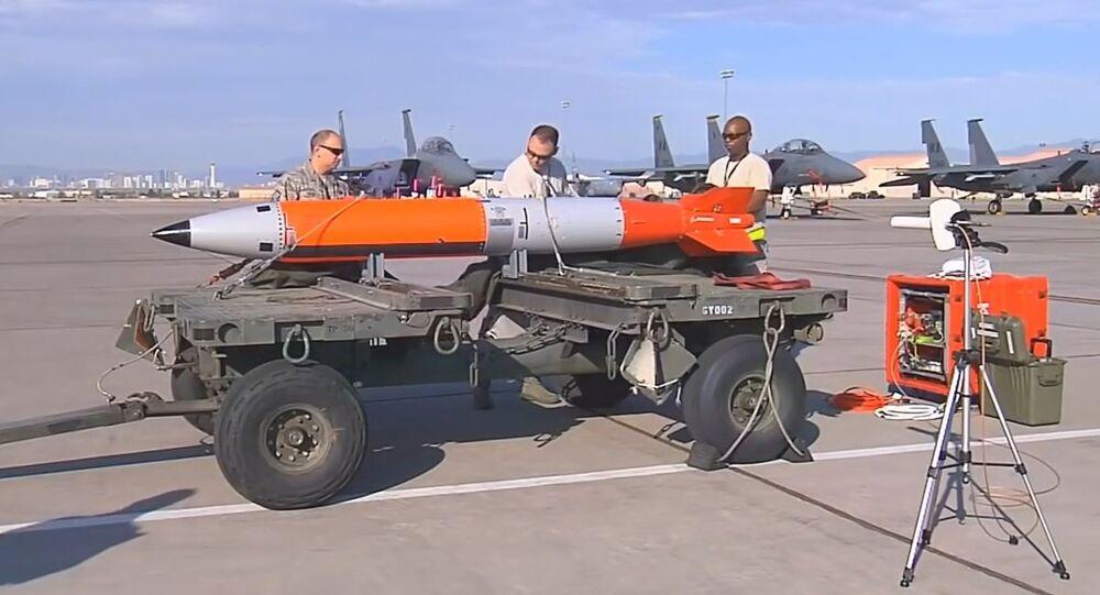 Missile con testata nucleare B61